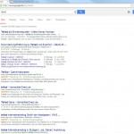 2014-08-18: Google SERPS zu Teliad